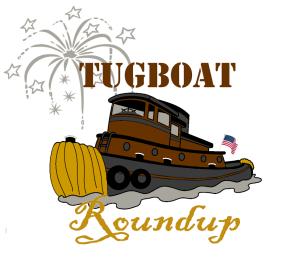 Tugboat roundup logo